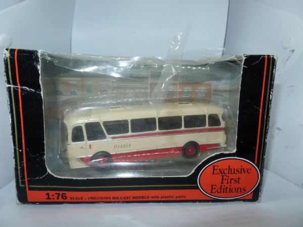EFE 12103 Harrington Cavalier Coach  Hebble Motor Services Blackpool  Worn Box